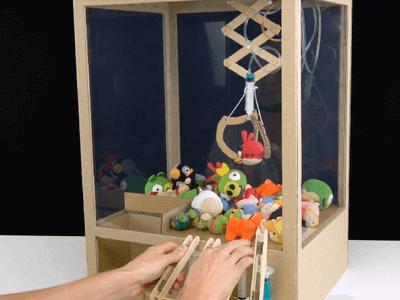 木製夾娃娃機