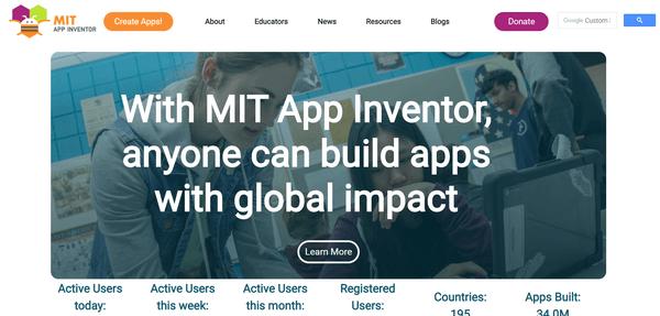 MIT-app-inventor官網