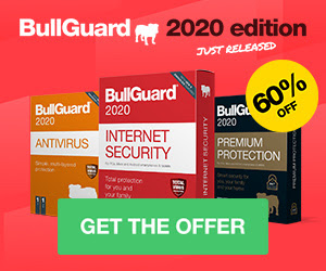 BullGuard所給的特別60%off優惠