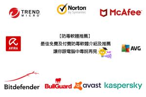 【2021防毒軟體推薦】3個最佳推薦和10個精選免費、付費完整介紹
