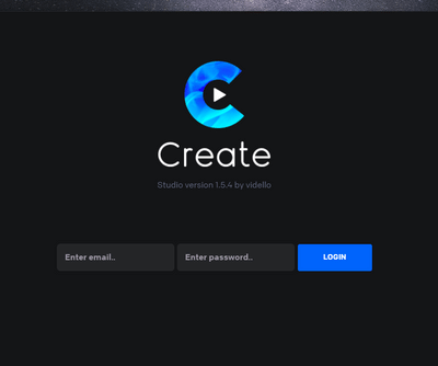 Create登入介面新版