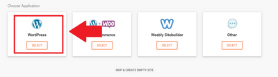 siteground選擇WordPress
