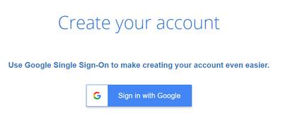 Bluehost利用google辦帳號