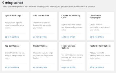 開始設計網站樣式