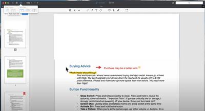 PDF Expert操作介面