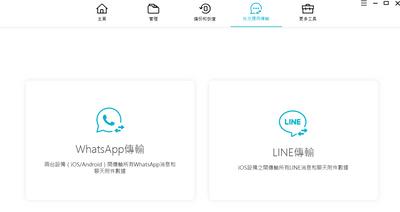icarefone的社交軟體傳輸