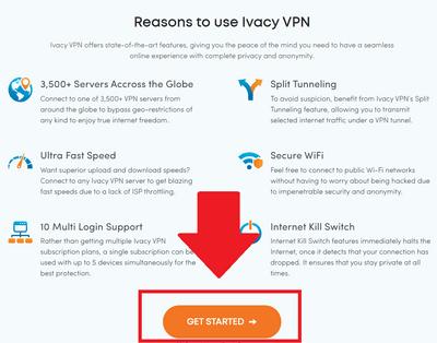 必須使用Ivacy VPN的冤因