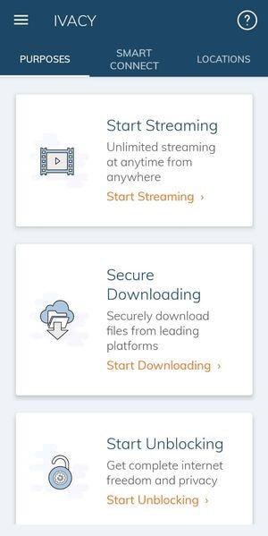 Ivacy VPN手機版其它主要功能